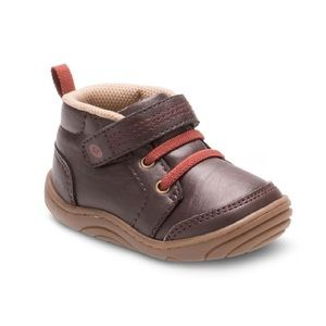 Stride Rite Remington Boots Brown Boys 5